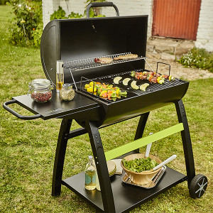 TONINO - Barbecue au charbon, fiable et design.