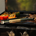 Accessoires - Pince en inox et en bois.