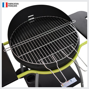 ISY FONTE 3 - Barbecue au charbon, élégant et performant.
