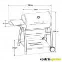 TONINO 70 - Barbecue au charbon, fiable et design.
