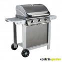 FIESTA 3 - Barbecue au gaz, moderne et pratique.
